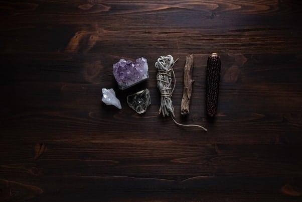 Picture of spiritual symbols